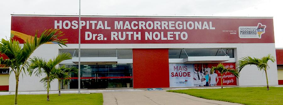 Fachada Hospital Macrorregional Dra. Ruth Noleto